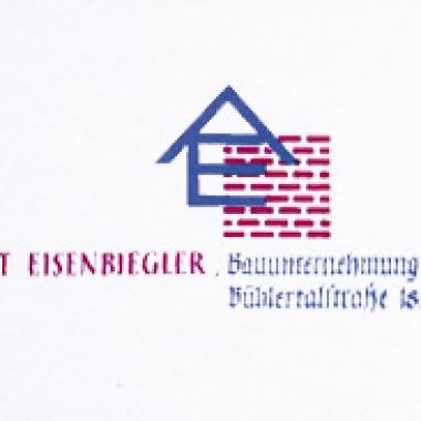 Eisenbiegler Bauunternehmung GmbH - Logo aus den 1960er Jahren