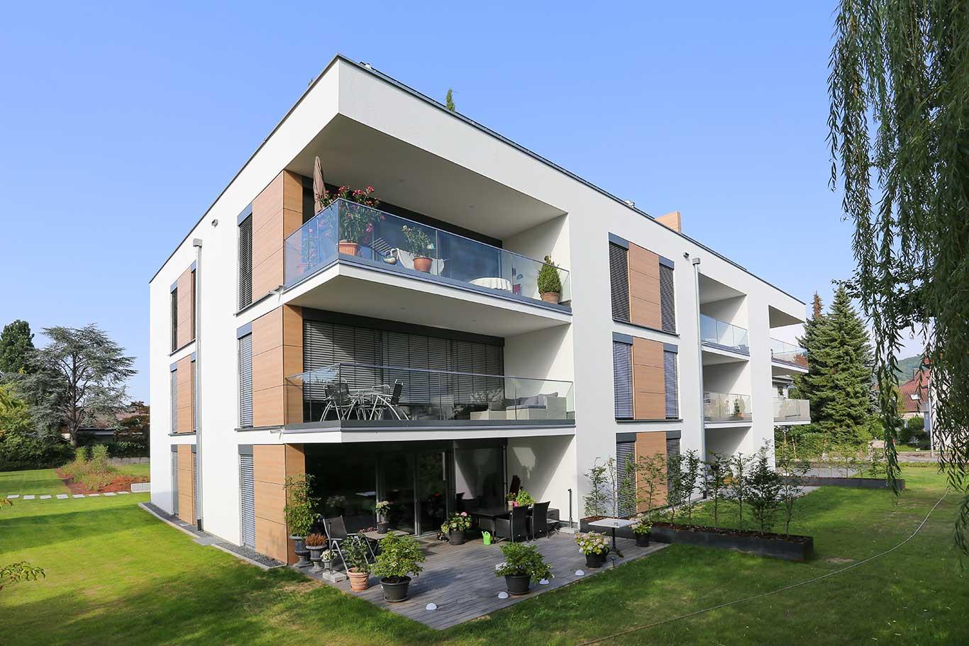 schl sselfertiges mehrfamilienhaus mit tiefgarage in b hl. Black Bedroom Furniture Sets. Home Design Ideas